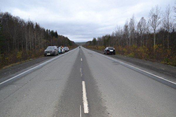 НаСеровском тракте Мерседес насмерть сбил пешехода